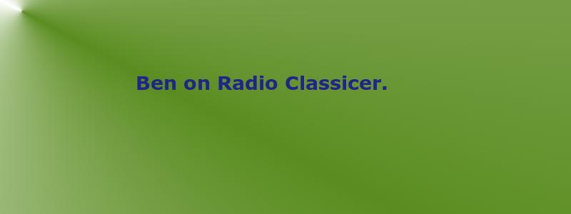 benonradioclassicer